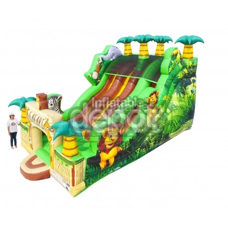 Jungle Three Lane Slide