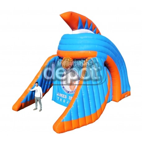 Inflatable Trojan Helmet
