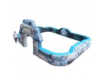 Inflatable Bumpers Track NA