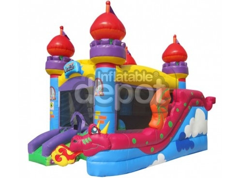 Bouncer Slide Combos, Castle Combo, BE Bounce Houses