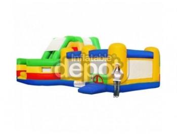 Bouncer Slide Combos, Combo Maze I,