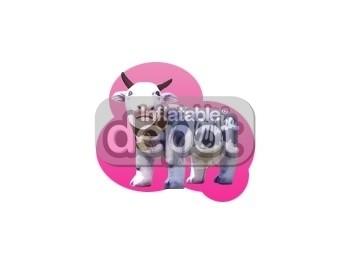 Inflatable Milka Caw