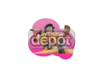Inflatable Samurai