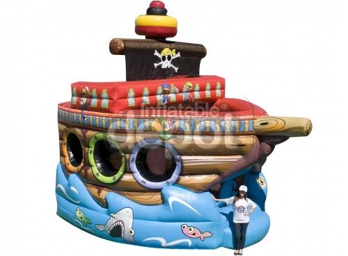 Fun Pirate Ship Bouncer