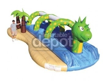 Water Slides, Jurassic Splash, The Inflatable Depot