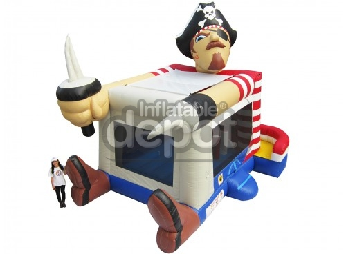 Foot Bouncer Pirate Large