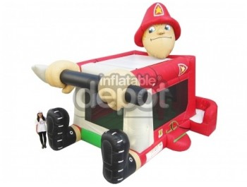 Foot Bouncer Fireman Large