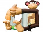 Foot Bouncer Monkey