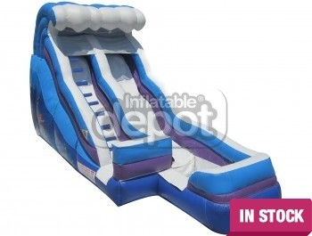 18' Single Lane Aquatic Slide