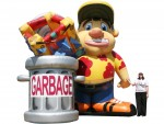 Inflatable Garbage Guy