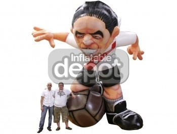Inflatable Soccer Star