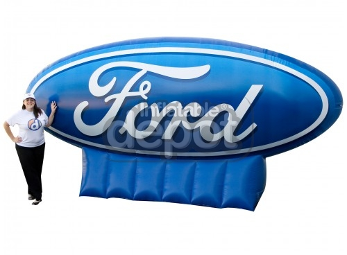 Inflatable Ford Logo