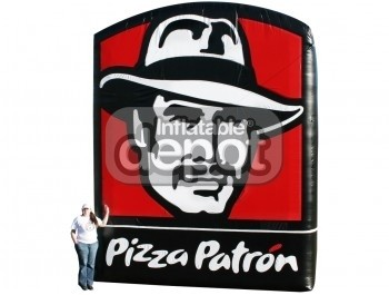 Inflatable Pizza Patron