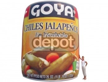 Inflatable Goya Can