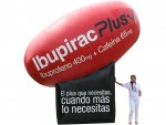 Inflatable Pfizer Plus pill