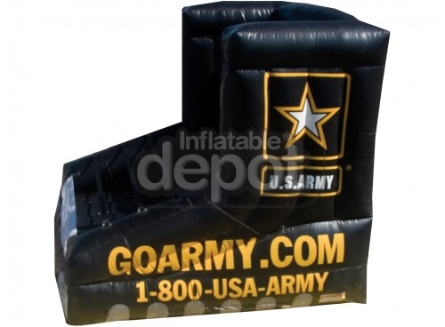 Inflatable Army boot