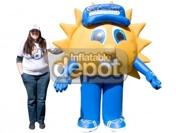 Inflatable Walking Sun