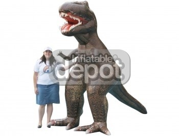 Inflatable Walking T-Rex