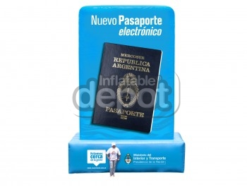Inflatable Passport Replica