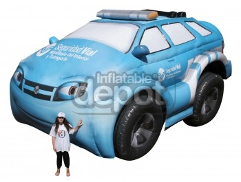 Inflatable Ypf Car Replica
