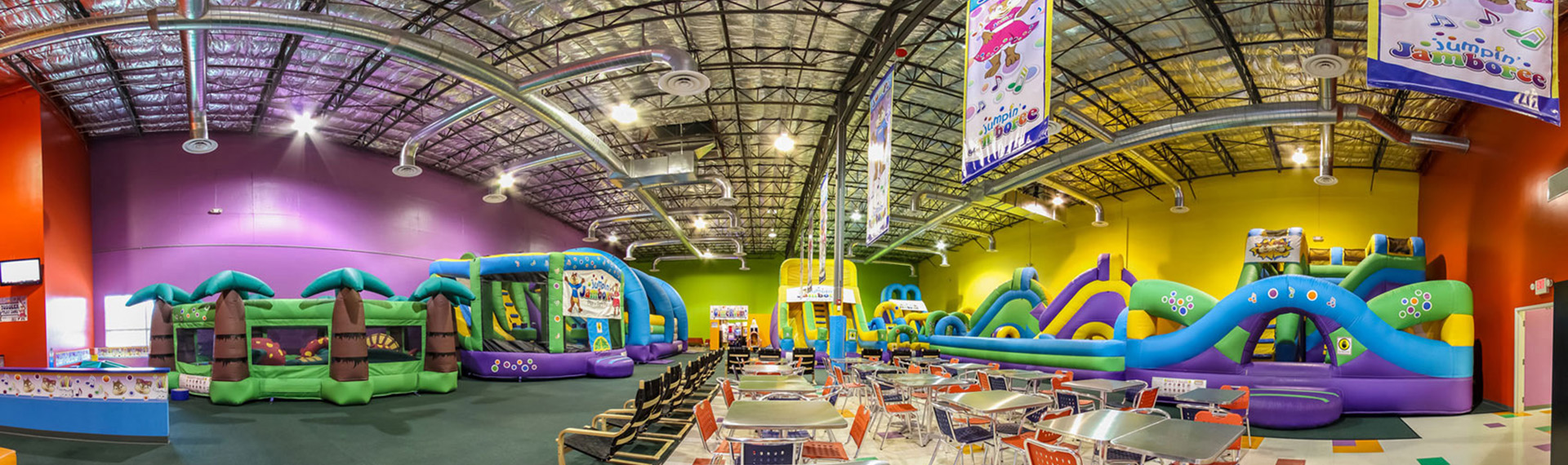 Inflatable Party Centers