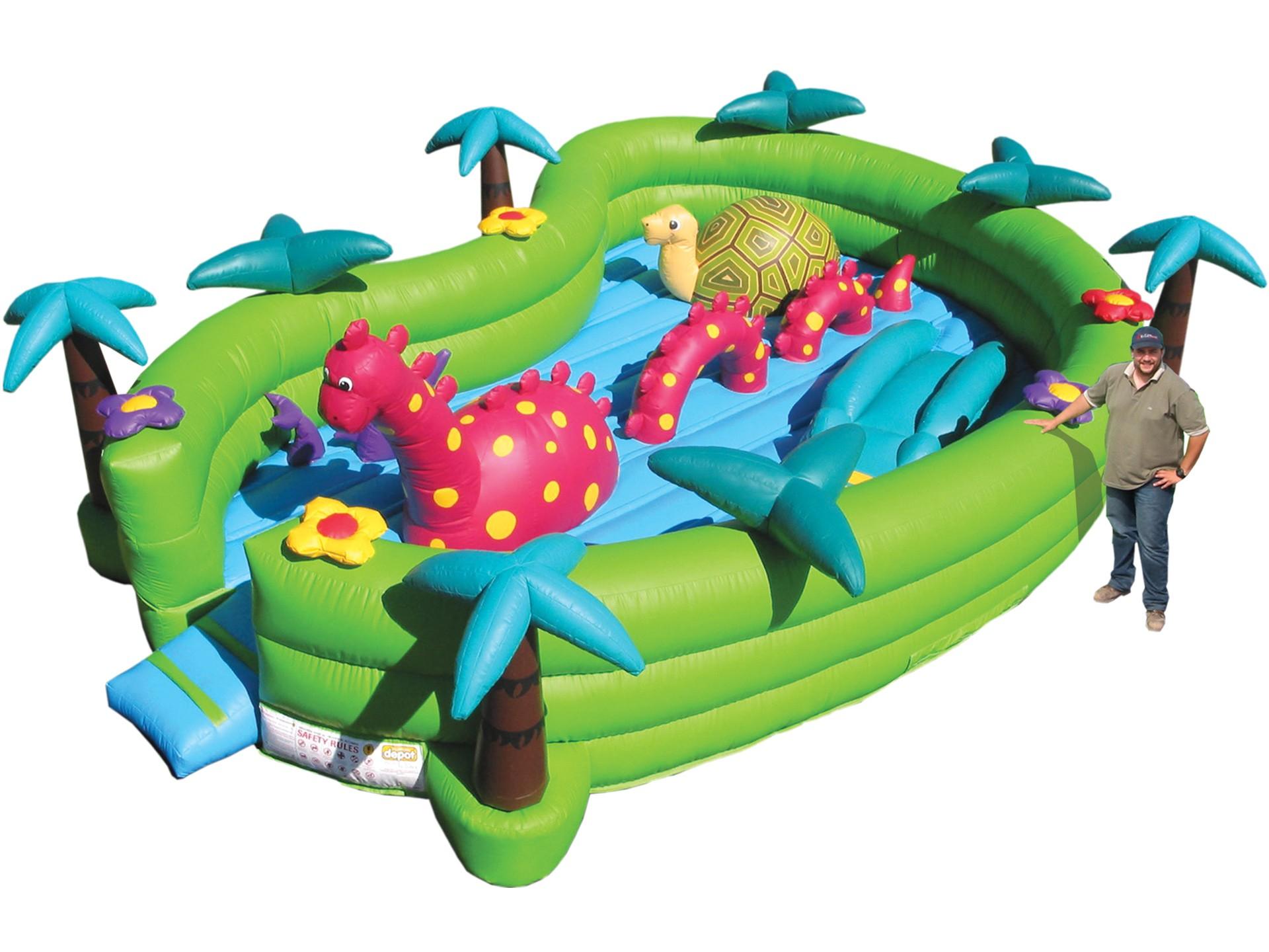 Baby Dino Lake Inflatable Depot