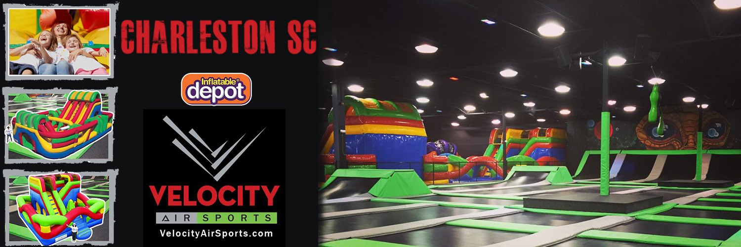 Velocity Air Sports Charleston, SC - Extreme Fun for all family !