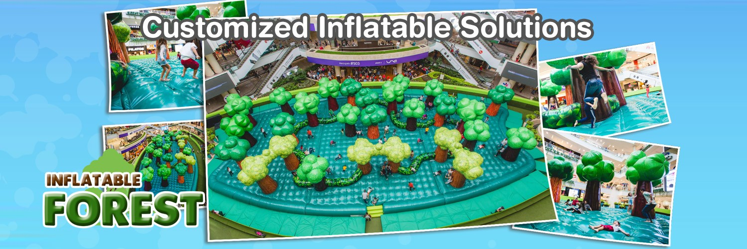 INFLATABLE FOREST